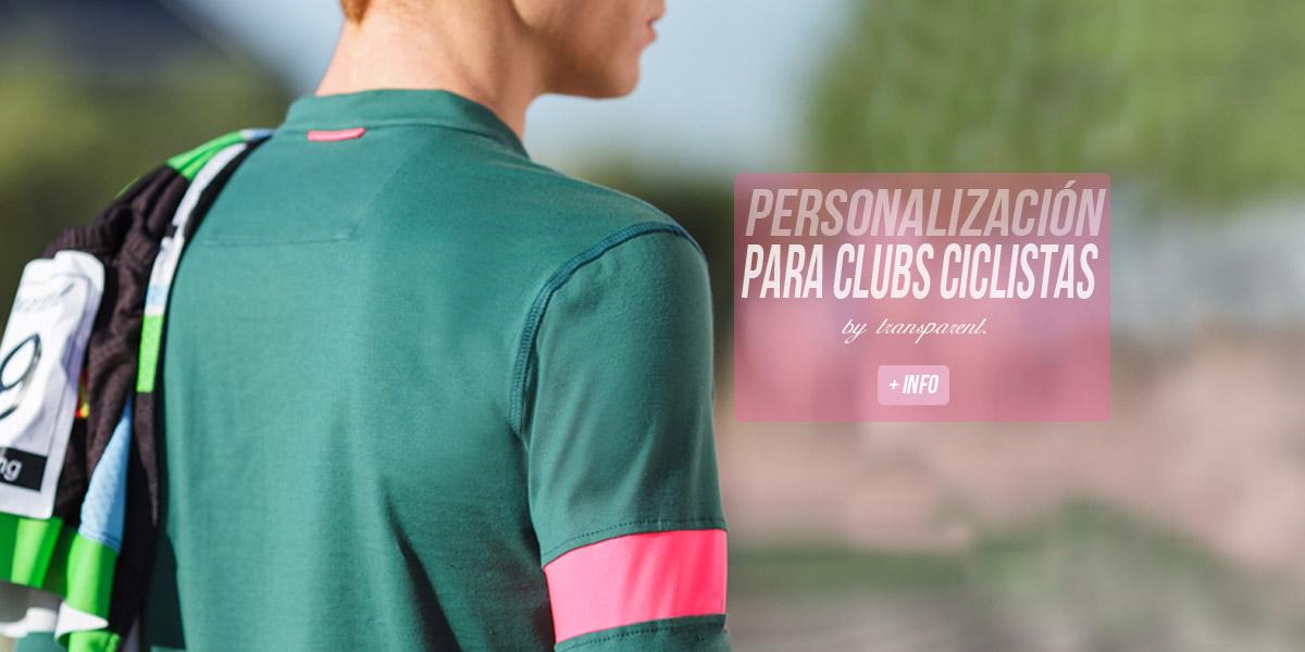 casual cycling wear personalizacion