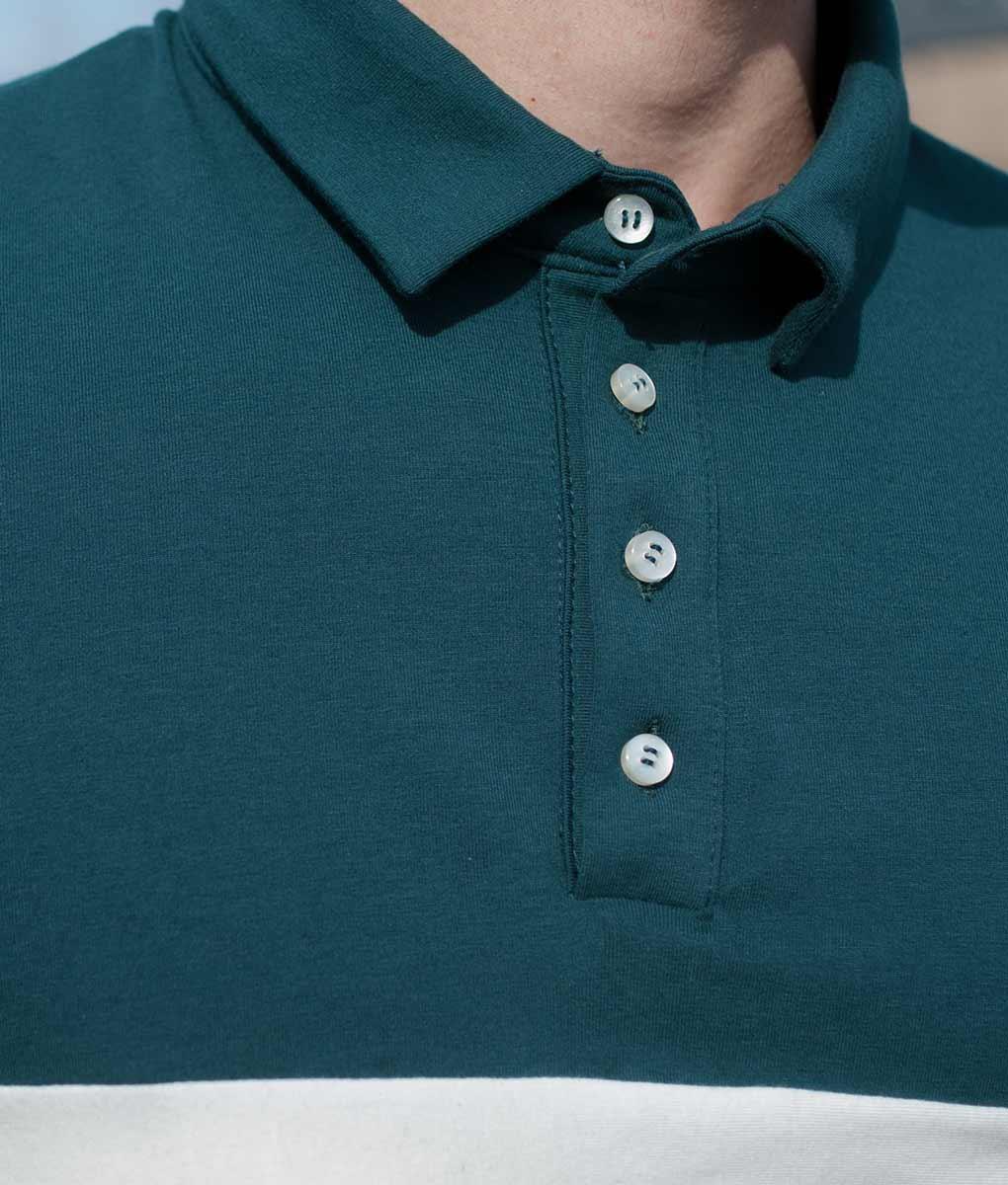 Polo-verde-detalles