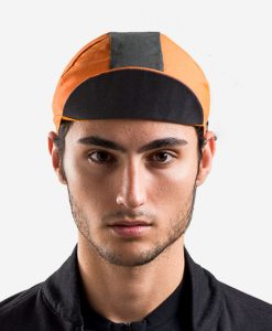 casual-cycling-black-orange-black-cap-front