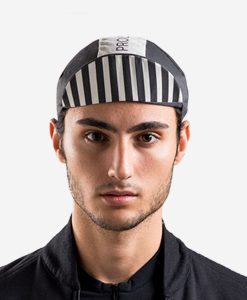 casual-cycling-black-white-cap-front