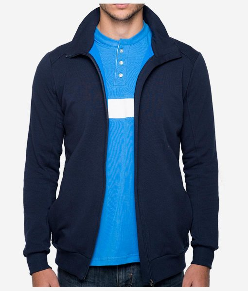 casual-cycling-blue-high-collar-jacket-front-open