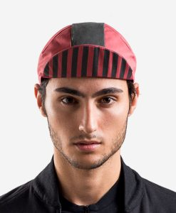 casual-cycling-red-black-cap-front