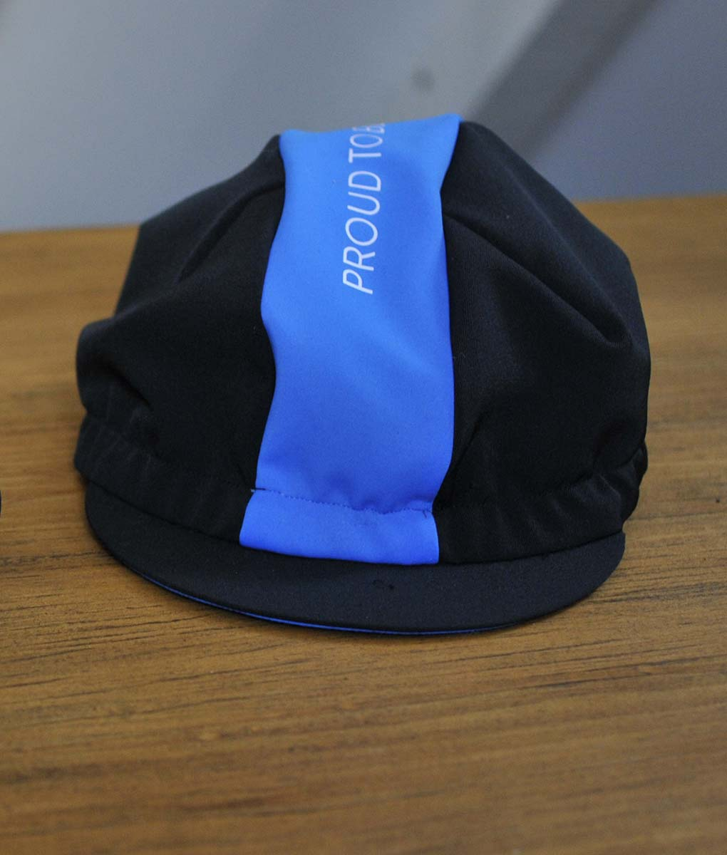 Blue-fluor-cycling-cap