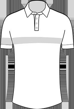 transparent-a-medida-polo-corte-pecho-y-brazalete