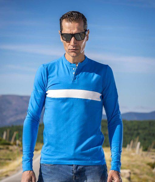 casual-cycling-camiseta-classic-azul-exterior-front