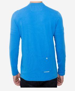 casual-cycling-clothing-button-blue-tee-back