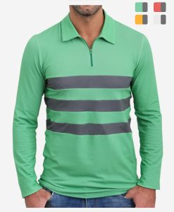 casual-cycling-clothing-club-polo-green-front-colores-2