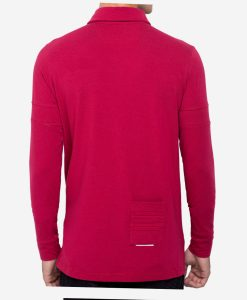 casual-cycling-clothing-polo-granate-5-stripes-back