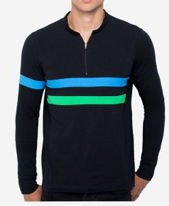 casual-cycling-clothing-zip-black-tee-front