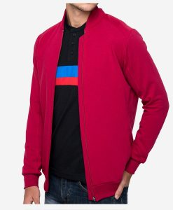 casual-cycling-red-rib-collar-jacket-lateral