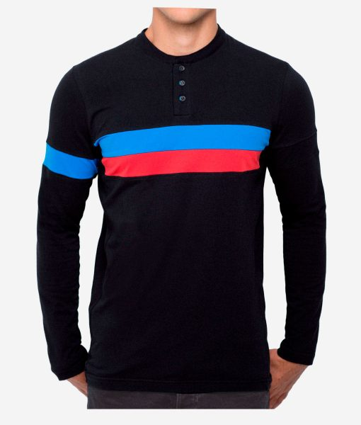 casual-cycling-clothing-button-black-tee-front-ok