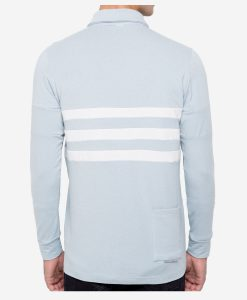 casual-cycling-clothing-polo-button-grey-back