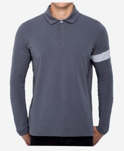 casual-cycling-clothing-polo-zip-grey