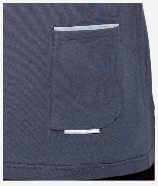 casual-cycling-clothing-polo-zip-grey-back-neck-detail