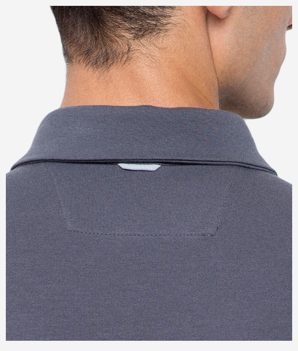 Transparent-casual-cycling-titanium-classic-back-collar-detail
