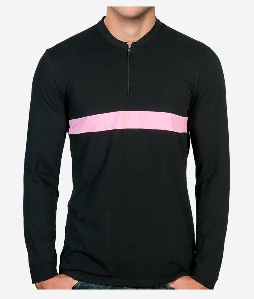 casual-cycling-black-pink-zipper-front