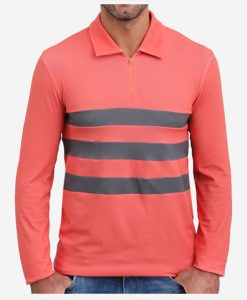 casual-cycling-clothing-club-polo-retro-red-front