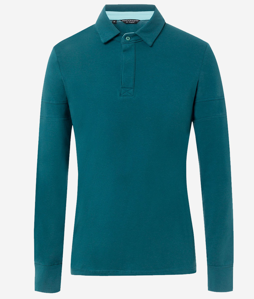 casual-cycling-classic-polo-anthracite-front
