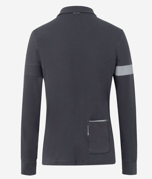 Transparent-casual-cycling-polo gris