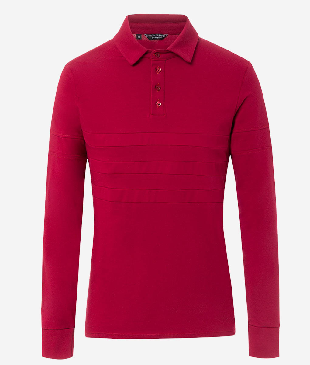 casual-cycling-polo-maroon-front