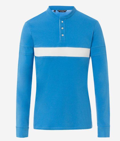 Transparent-casual-cycling-tee-azul