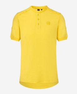 Casual-Cycling-camiseta-gravel-amarillo