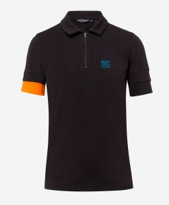 casual-cycling-Transparent polo-black