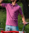 casual-cycling-Transparent-magenta-polo
