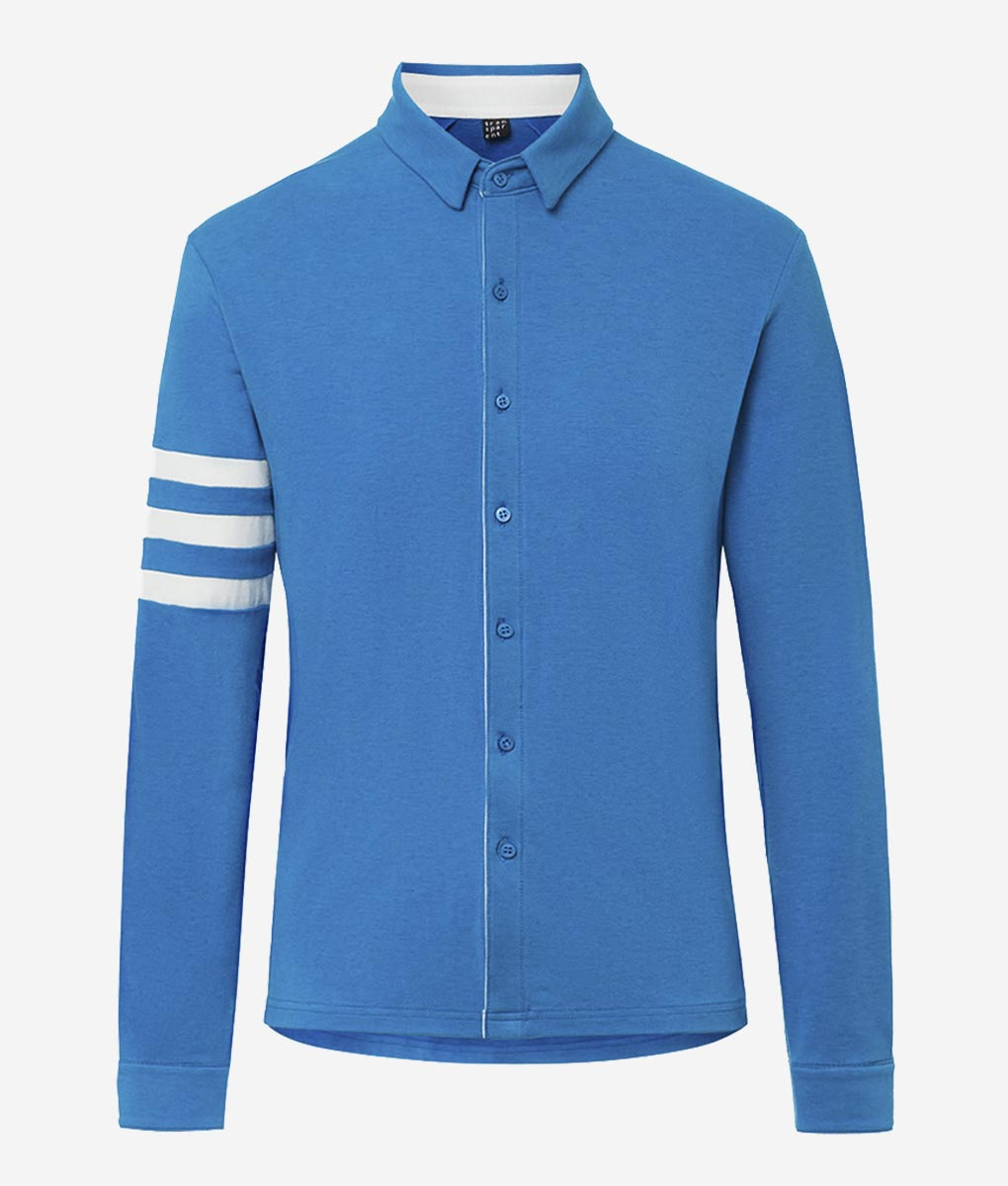 casual-cycling-transparent-Light- Blue-Merino-Shirt-front