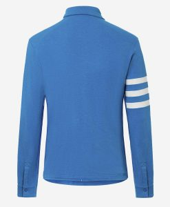 casual-cycling-transparent-Light- Blue-Merino-Shirt-back