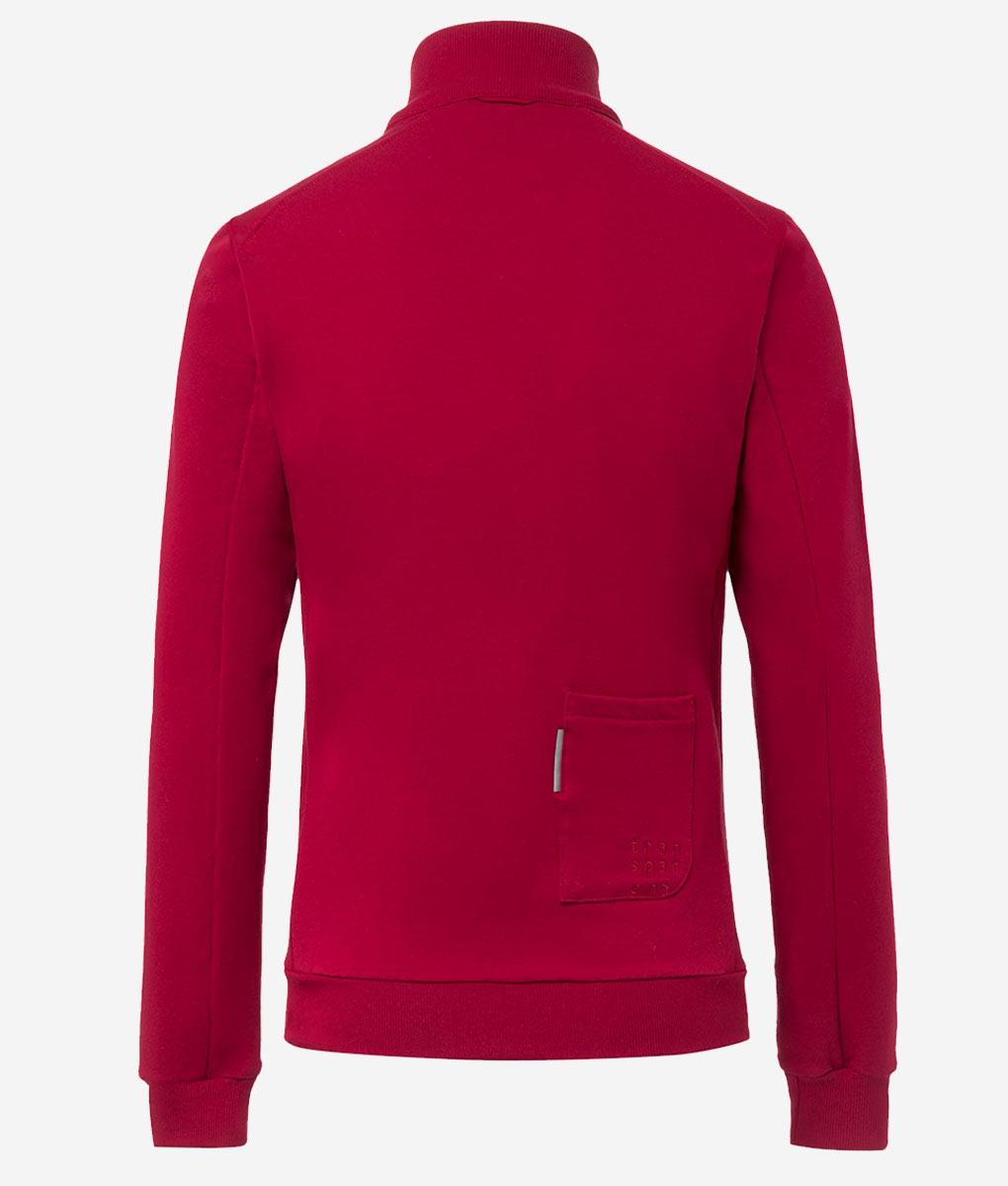 Casual-cycling-classic-maroon-cardigan-back
