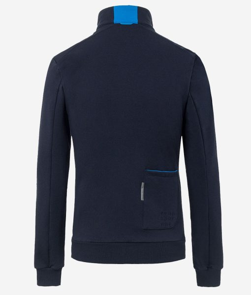 Transparent-casual-cycling-chaqueta-azul-back