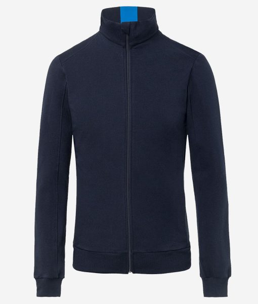 Transparent-casual-cycling-chaqueta-azul