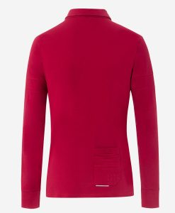 Transparent-casual-cycling-polo-rojo-back