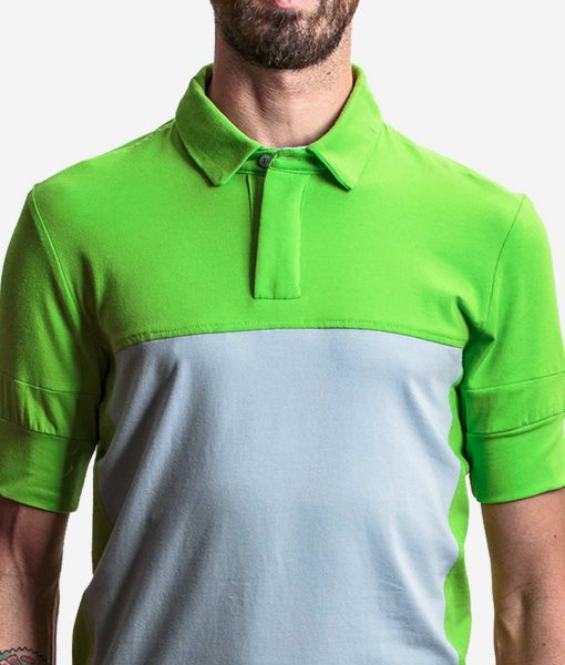 casual-cycling-Transparent-green-polo