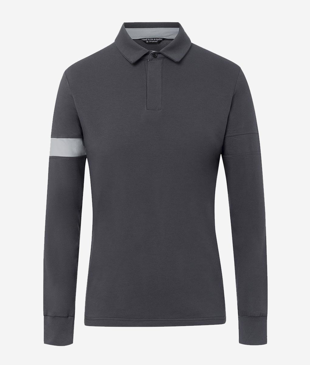 casual-cycling-polo-classic-titanio-front