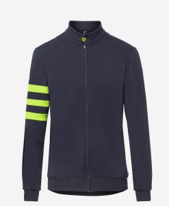 casual-cycling-jacket-fluor-dark-blue-front