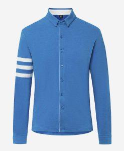 casual-cycling-transparent-Light- Blue-Merino-Shirt-front