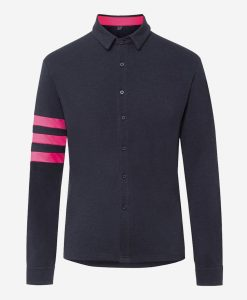 casual-cycling-transparent-Dark-Blue-Merino-Shirt-Front