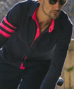 casual-cycling-transparent-Dark-Blue-Merino-Shirt-outside