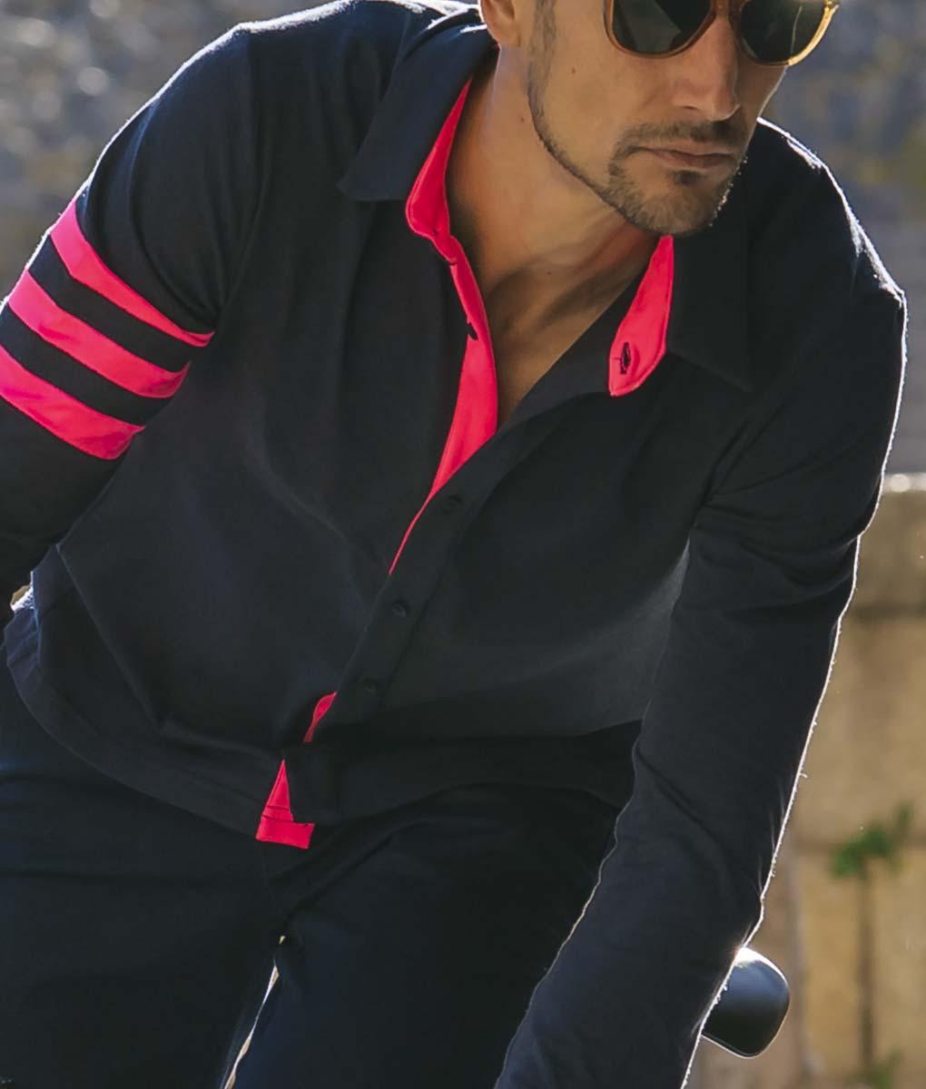casual-cycling-transparent-Dark-Blue-Merino-Shirt-outside