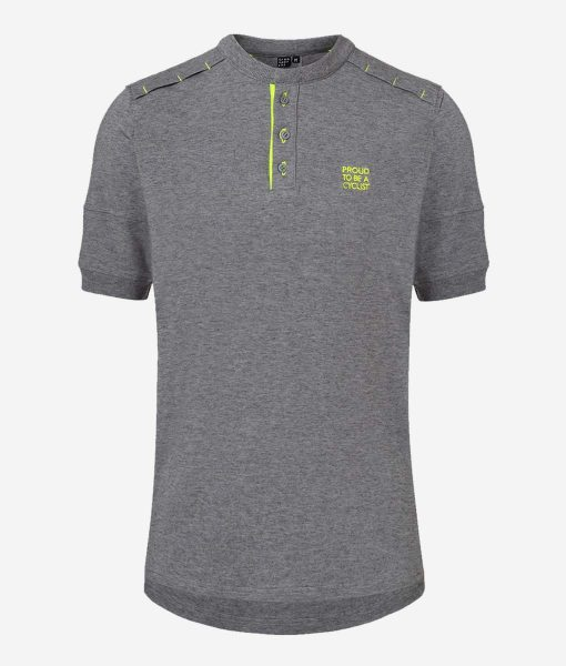 Casual-Cycling-camiseta-gravel-gris