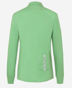 Track-polo-verde-back-transparent-casual-cycling