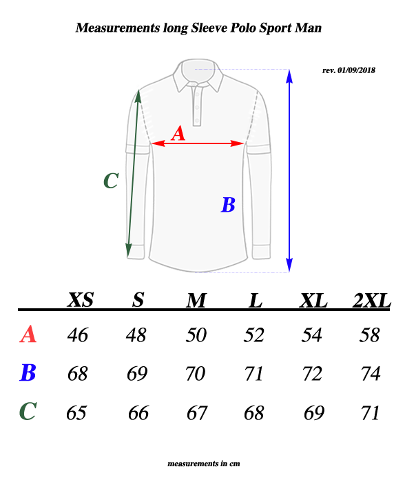 Long-Sleeve-polo-measurements