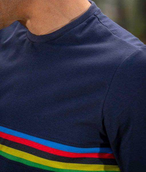 camiseta campeón del mundo transparent ciclismo casual