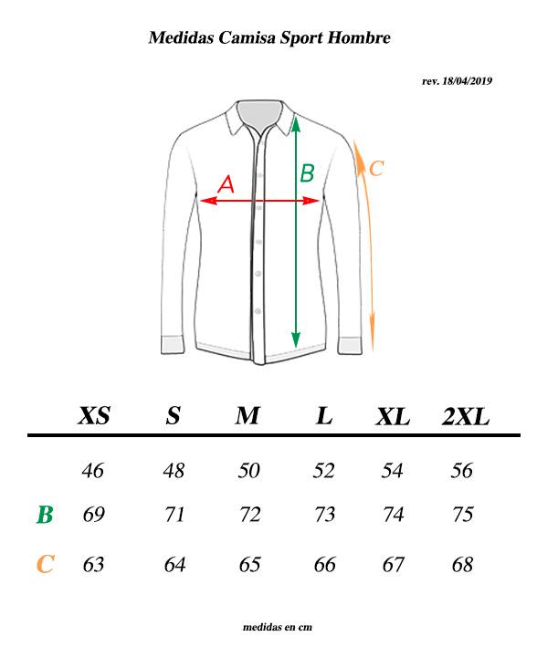 medidas-camisa-transparent-ciclismo-casual