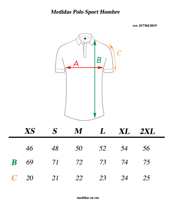 medidas-polo-transparent-ciclismo-casual