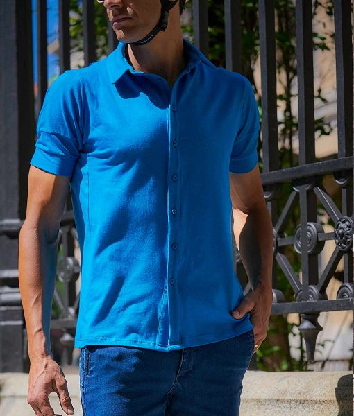 casual cycling merino shirt