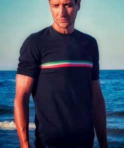camiseta italia ciclismo casual transparent