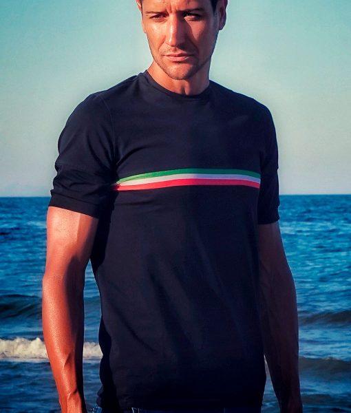 camiseta italia ciclismo casual transparent
